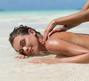 massage californien, comme sur la plage Tierra Nueva