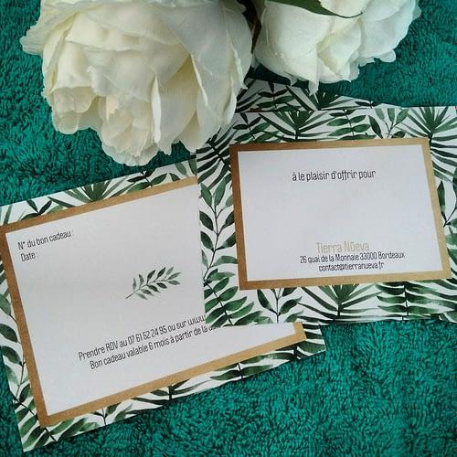 Cartes Cadeaux Tierra Nueva